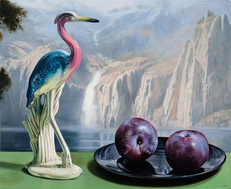 Sherrie Wolf - Heron and Plums