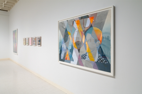 Dan Gluibizzi | A coupled search | September 2019 | Russo Lee Gallery | Installation view 02