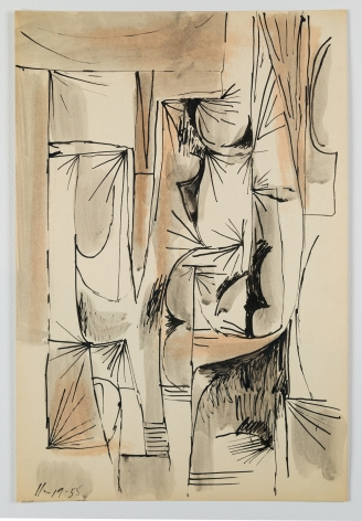 Bunce - Untitled (Abstract Drawing)