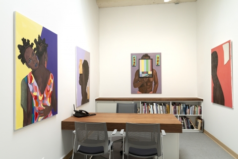 barry johnson - Latitude - Installation View - Russo Lee Gallery - The Office - May/June 2019 - view 06
