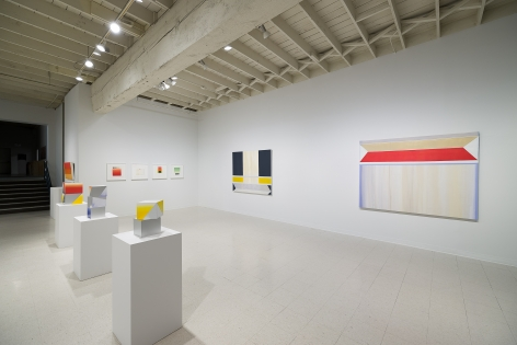 Betty Merken | Persuasive Geometry | March 2020 | Russo Lee Gallery | Portland Oregon | Installation view 02
