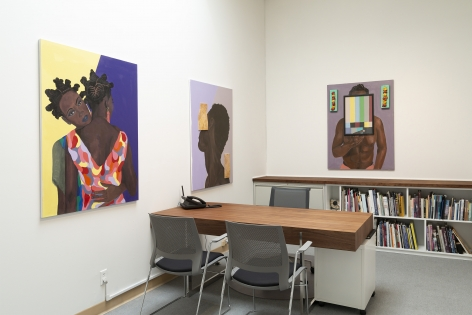barry johnson - Latitude - Installation View - Russo Lee Gallery - The Office - May/June 2019 - view 01