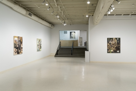 Elizabeth Malaska   Heavenly Bodies   Installation View 2