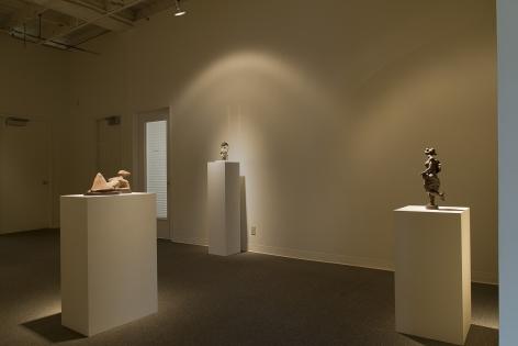 Manuel Izquierdo installation at Laura Russo Gallery March 2015
