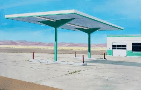 Gabe Fernandez  Green Gas Station