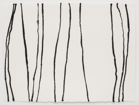 Brenda Mallory, Warm Lines 1 (top panel), 2014