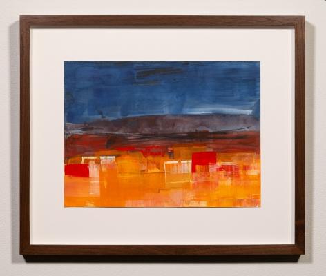 Margot Voorhies Thompson - Night Falls on Rothko Desert