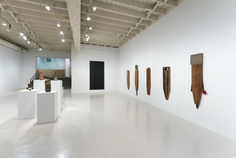 Gina Wilson - teeter taught her - September 2–October 2, 2021 - Russo Lee Gallery - Installation View 02