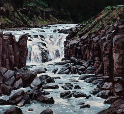 Michael Brophy (b. 1960)  The Waterfall, 2020