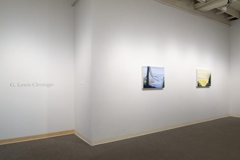 G. Lewis Clevenger | Seascapes | Russo Lee Gallery | Installation View 01
