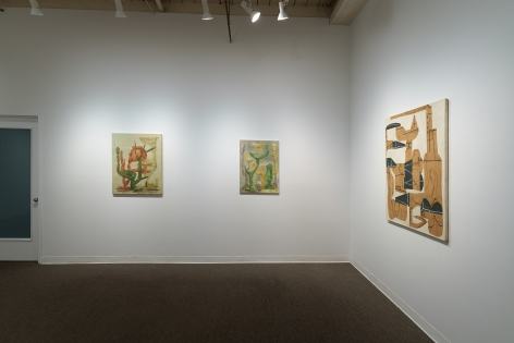 Whiting Tennis | Studio | Russo Lee Gallery | April 2021 | Installation View 011