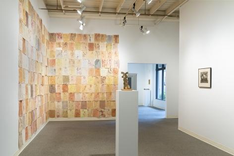 Early Northwest Artists - Installation View - June 2019 - Carl Morris, Louis Bunce, Michele Russo, Sally Haley, Manuel Izquierdo - view 05