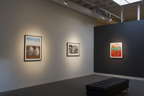 Louis Bunce at Laura Russo Gallery January 2014