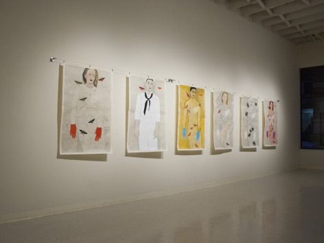 Fay Jones at Laura Russo Gallery December 2012