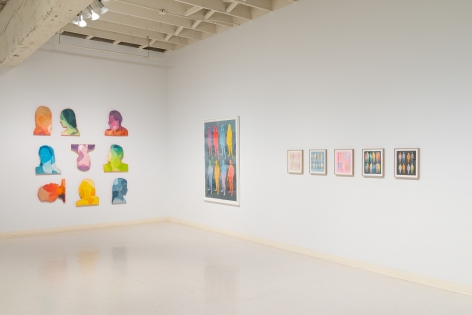 Dan Gluibizzi | A coupled search | September 2019 | Russo Lee Gallery | Installation view 09