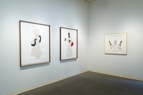Anne Siems - Bite - August 2019 - Russo Lee Gallery - installation View 02