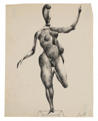 Bunce - Untitled Female Study