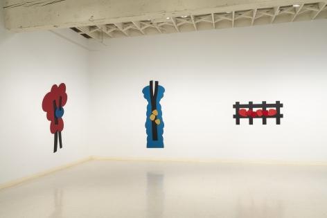 Mel Katz - Wall Sculpture - March 2019 - Installation View 05