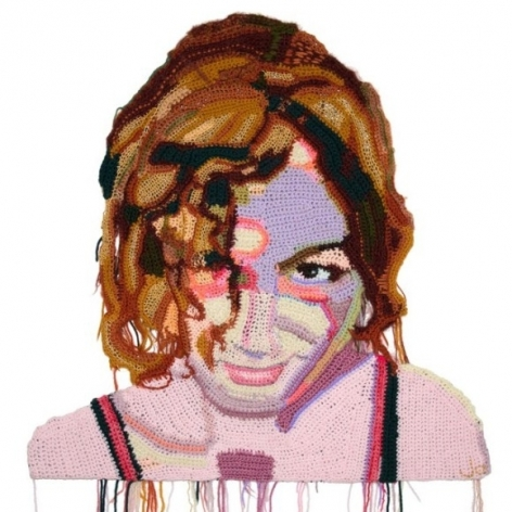 Crocheted Portraits by Jo Hamilton