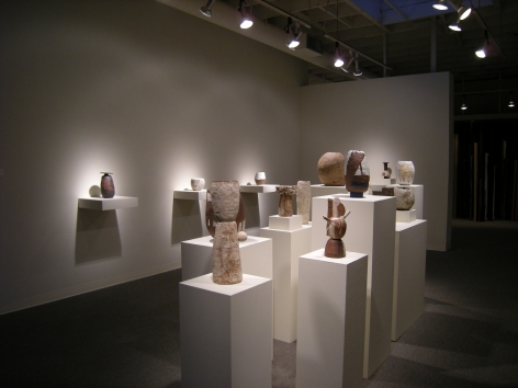 Gina Wilson clay works at Laura Russo Gallery January 2012