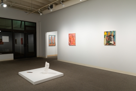 Drinking the Reflection-curated by Elizabeth Malaska-Russo Lee Gallery-Portland-november 2019-Installation view 07