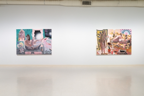 Elizabeth Malaska-Of Myth or of Monday-Russo Lee Gallery-Portland-November 2019-Installation View-01