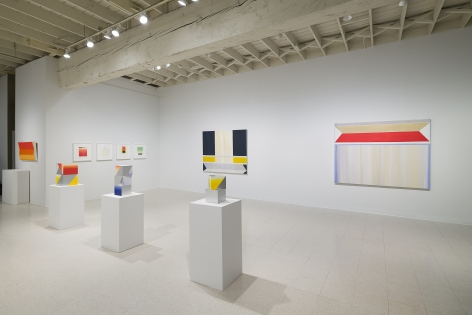 Betty Merken | Persuasive Geometry | March 2020 | Russo Lee Gallery | Portland Oregon | Installation view 04