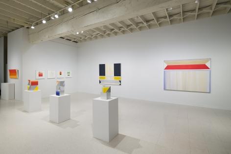 Betty Merken   Persuasive Geometry   March 2020   Russo Lee Gallery   Portland Oregon   Installation view 04