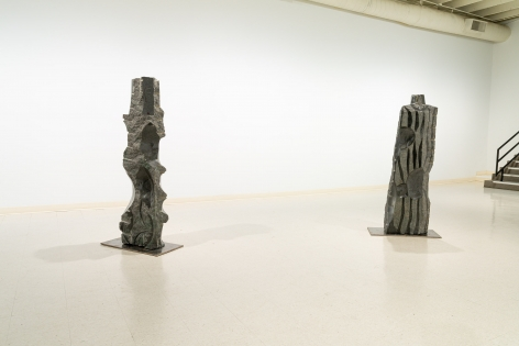Michihiro Kosuge - Recent Sculpture - August 2019 - Russo Lee Gallery - Installation View 01