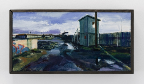 Roll Hardy (b. 1974)  Behind the Track, 2021