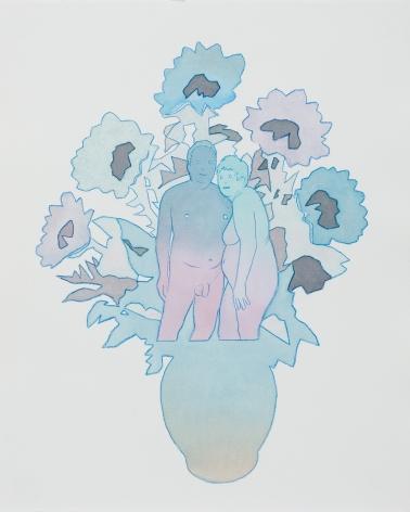 Dan Gluibizzi - Modern Couple (blue)