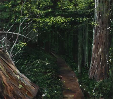 Michael Brophy (b. 1960)  The Trail III, 2021