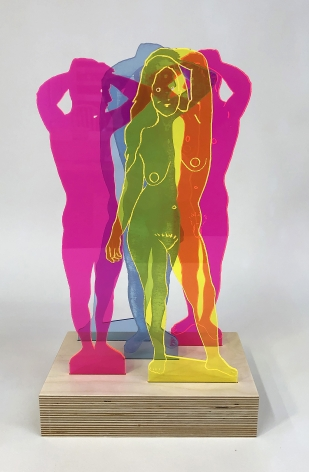 Dan Gluibizzi at Seattle Art Fair 2019