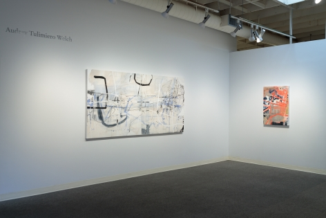 Audrey Tulimiero Welch | Fuel | Russo Lee Gallery | Portland Oregon | Installation view 02