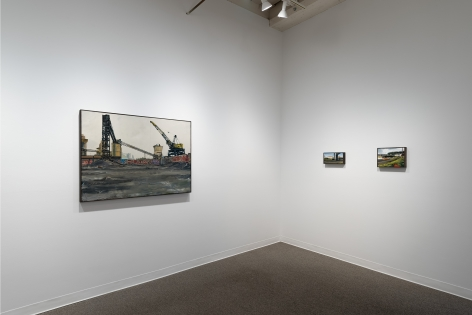 Roll Hardy | New Paintings | March 4–27, 2021 | Install view 08