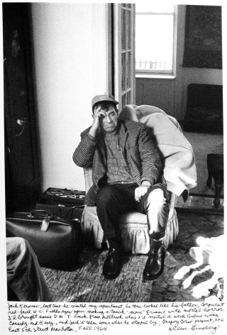 Allen Ginsberg - Jack Kerouac visiting Allen Ginsberg's apartment, 704 East 5th Street, for the last time, 1964 - Howard Greenberg Gallery