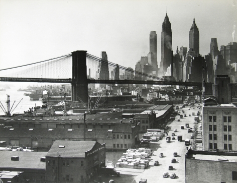 Esther Bubley - New York Harbor, SONJ, NYC Oct, 1946 - Howard Greenberg Gallery