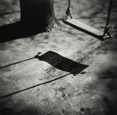 Eric Lindbloom - Swing, Cambridge, MA, 1978 - Howard Greenberg Gallery