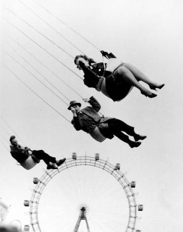 "Henry Wolf - Vienna Ferris Wheel from Orson Welles' ""The Third Man"", 1957 - Howard Greenberg Gallery"