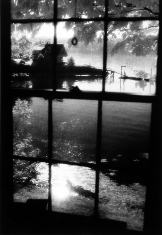 Judith Glickman - Island Window, Great Diamond Island, Maine, 1985 - Howard Greenberg Gallery
