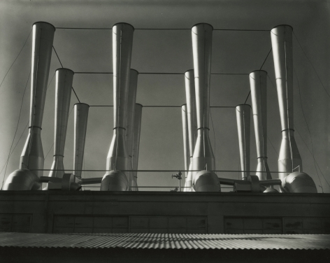 Imogen Cunningham - Fageol Ventilators, 1934 - Howard Greenberg Gallery