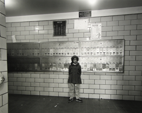 Bruce Davidson: East 100th Street, from the 2nd Edition 2009 Howard Greenberg Gallery