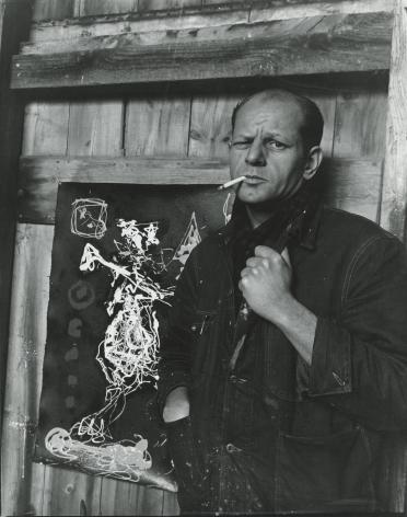 Arnold Newman - Jackson Pollock, 1949 - Howard Greenberg Gallery - 2018