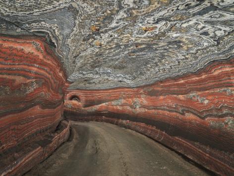 Edward Burtynsky - Uralkali Potash Mine #2, Berezniki, Russia 4/6, 2017 - Howard Greenberg Gallery - 2018
