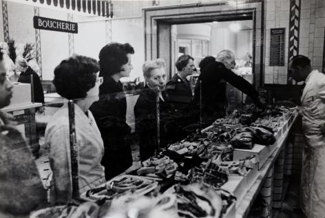 Don McCullin, Harrod's Meat Counter, 1963-65, Howard Greenberg Gallery, 2019