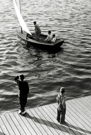 Harold Roth - Sailing Away, Port Washington, Long Island, 1949 - Howard Greenberg Gallery