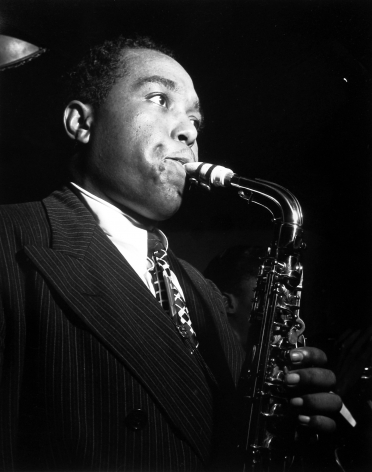 William Gottlieb - Charlie Parker, c.1948 - Howard Greenberg Gallery