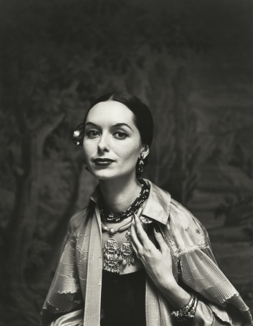 Gordon Parks - Spanish Fashions by Tina Leser, New York, NY, 1950 - Howard Greenberg Gallery