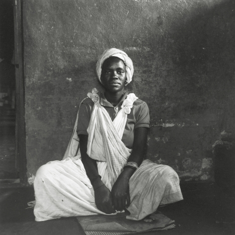 David Goldblatt - Untitled (seated woman), c.1972 - Howard Greenberg Gallery