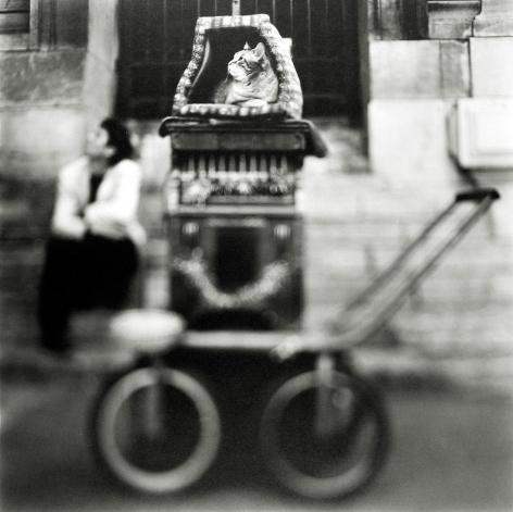 Keith Carter - Organ Grinder, 1999 - Howard Greenberg Gallery